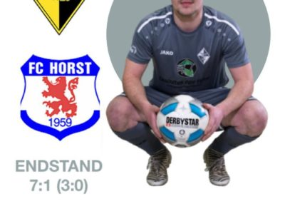 1 Mannschaft gegen Horst 59 - 2020